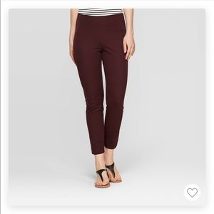 A new day maroon ankle pants